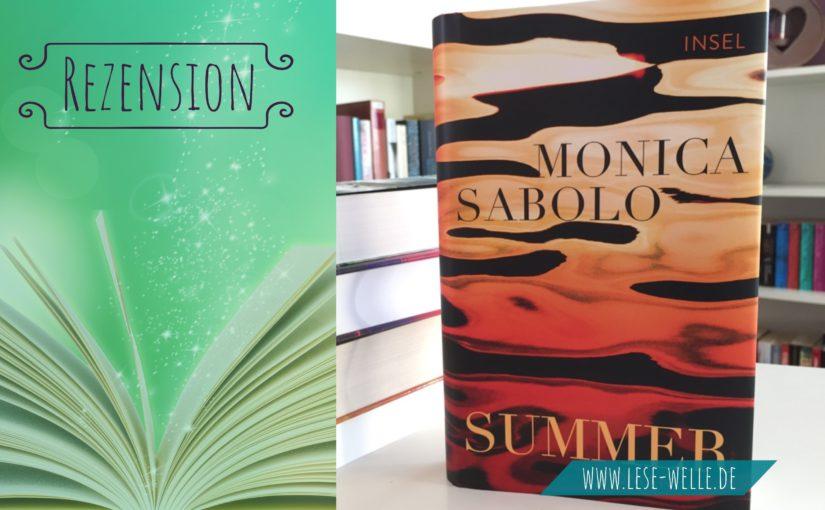 Summer von Monica Sabolo